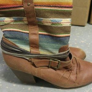 Mossimo Western Style Boots